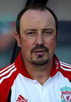Photo: Maarten Straetemans.<br /> Feyenoord v Liverpool. Rotterdam Tournament. 05/08/2007.<br /> Manager Rafael Benitez