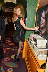 OLIVIA INGE at the launch of GP Nutrition held at Annabel's, 44 Berkeley Square, London on 26th January 2016.