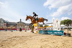 AL KUMEITI Mohammed (UAE), TAITTINGER DE ALTUBE<br /> Münster - Turnier der Sieger 2019<br /> Preis des EINRICHTUNGSHAUS OSTERMANN, WITTEN<br /> CSI4* - Int. Jumping competition  (1.45 m) - <br /> 1. Qualifikation Mittlere Tour<br /> Medium Tour<br /> 02. August 2019<br /> © www.sportfotos-lafrentz.de/Stefan Lafrentz
