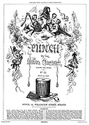 Punch or the London Charivari (front cover, 2 July 1842)