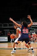 2008 University of Miami Women's Basketball vs Mississippi