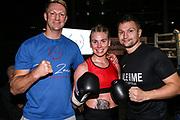 Boxen: Giants Professional Boxing Serie, Hamburg, 07.11.2020<br /> Leichtgewicht: Natalie Zimmermann (GER) - Wiebke Braatz GER)<br /> © Torsten Helmke