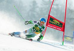 GROSELJ Zan of Slovenia competes during Men Giant Slalom race of FIS Alpine Ski World Cup 54th Vitranc Cup 2015, on March 14, 2015 in Kranjska Gora, Slovenia. Photo by Vid Ponikvar / Sportida