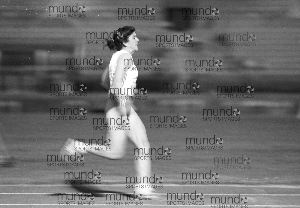 ******This is an unprocessed scan from the negative. You can buy it as is and clean it up yourself, or contact us for rates on providing the service for you. *******<br /> <br /> (Montreal, Canada---18-21 June 1992)  at the 1992 Canada Track and Field Olympic Trials as the complexe sportif Claude-Robillard in Montreal. Photo 1992 Copyright Sean Burges / Mundo Sport Images.<br /> <br /> ******This is an unprocessed scan from the negative. You can buy it as is and clean it up yourself, or contact us for rates on providing the service for you. *******