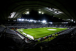 A general view of Pride Park Stadium, home of Derby County - Mandatory by-line: Robbie Stephenson/JMP - 17/12/2018 - FOOTBALL - Pride Park Stadium - Derby, England - Derby County v Nottingham Forest - Sky Bet Championship