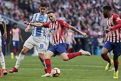 March 9, 2019 - Madrid, Madrid, Spain - Atletico de Madrid's Saul Niguez during La Liga match between Atletico de Madrid and CD Leganes at Wanda Metropolitano stadium in Madrid. (Credit Image: © Legan P. Mace/SOPA Images via ZUMA Wire)