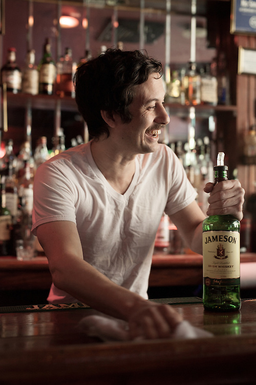 Brooklyn bartenders and bars shot for Jameson Whiskey and the Northside Festival, 2015