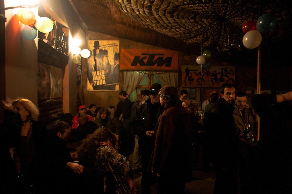 Kuglas Blues Club in Palilula.