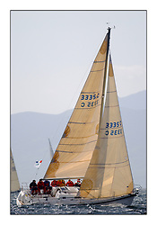 Yachting- The first days inshore racing  of the Bell Lawrie Scottish series 2002 at Tarbert Loch Fyne. Near perfect conditions saw over two hundred yachts compete. <br />Salamander - Elan 333 3335C Class 3<br />Pics Marc Turner / PFM