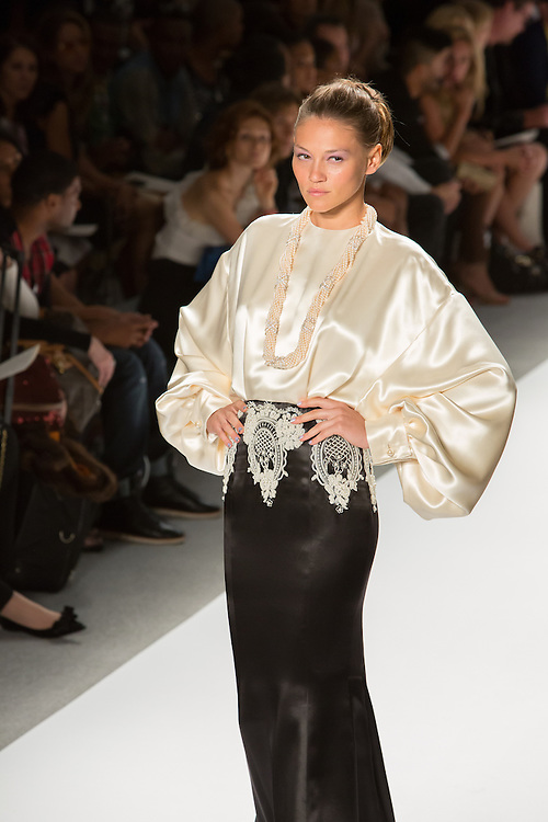 Black and white gown. By Zang Toi, shown at his Spring 20132 Fashion Week show in New York.