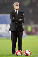 """Torino 29/9/2007 Stadio """"Olimpico""""<br /> Campionato Italiano Serie A<br /> Matchday 6 - Torino-Juventus (0-1)<br /> L'Allenatore della Juventus Claudio Ranieri<br /> Juventus Trainer Claudio Ranieri<br /> Photo Luca Pagliaricci INSIDE"""