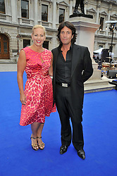 LAURENCE & JACKIE LLEWELLYN-BOWEN at the Royal Academy of Arts Summer Party held at Burlington House, Piccadilly, London on 3rd June 2009.