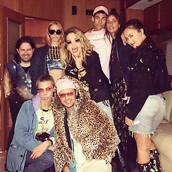 """Rita Ora releases a photo on Instagram with the following caption: """"Oh I forgot to post this but Glastonbury this year was \ud83d\udc83\ud83d\udd25 That's all I remember lol by the way I love my friends \u2764\ufe0f #glasto2017"""". Photo Credit: Instagram *** No USA Distribution *** For Editorial Use Only *** Not to be Published in Books or Photo Books ***  Please note: Fees charged by the agency are for the agency's services only, and do not, nor are they intended to, convey to the user any ownership of Copyright or License in the material. The agency does not claim any ownership including but not limited to Copyright or License in the attached material. By publishing this material you expressly agree to indemnify and to hold the agency and its directors, shareholders and employees harmless from any loss, claims, damages, demands, expenses (including legal fees), or any causes of action or allegation against the agency arising out of or connected in any way with publication of the material."""