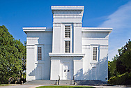 "First Presbyterian Church in Sag Harbor, New York, also known as Old Whaler's Church, is a historic and architecturally notable Presbyterian church built in 1844 in the Egyptian Revival style. The church is Sag Harbor's ""most distinguished landmark"