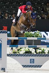 Coulter Saer (USA) - Springtime <br /> Longines FEI World Cup™ Jumping Final 2013/2014<br /> Lyon 2014<br /> © Dirk Caremans