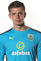 BURNLEY, ENGLAND - JULY 20:  Nick Pope of Burnley poses during the Premier League portrait session on July 20, 2016 in Burnley, England. (Photo by Barrington Coombs/Getty Images for Premier League)