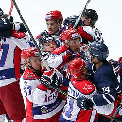 20151116: CRO, Ice Hockey - KHL League 2015/16, KHL Medvescak Zagreb vs CSKA Moscow