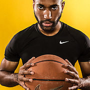 Basketball Life:  Studio shoot with LA native, Damon Harvin in Downtown Los Angeles, California on January 28, 2018.  ©Michael Der, All Rights Reserved.  Please contact Michael Der for all licensing requests.