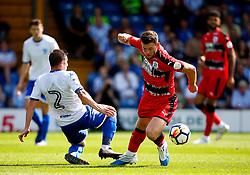 Harry Bunn of Huddersfield Town takes on Craig Jones of Bury - Mandatory by-line: Matt McNulty/JMP - 16/07/2017 - FOOTBALL - Gigg Lane - Bury, England - Bury v Huddersfield Town - Pre-season friendly