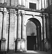 The church is dedicated to Bom Jesus meaning Good Jesus or Infant Jesus.Belonging to the Jesuit order this world heritage monument's construction started on 24th November  1594 and was consecrated on 15th May 1605.