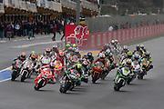Moto 2 Start of the race