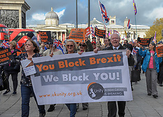 Unity Brexit Now Rally, London, 10 November 2018