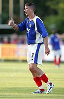 Fotball<br /> Foto: Dppi/Digitalsport<br /> NORWAY ONLY<br /> <br /> FRIENDLY GAMES 2005/2006 - AS MONACO v PORTSMOUTH FC - 23/07/2005<br /> <br /> GREGORY VIGNAL (POR)