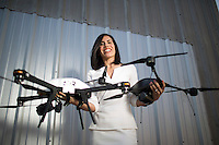 Trumbull Unmanned integrates unmanned aircraft systems (drones) into the oil and gas industry to increase safety and operational efficiency. It's owned by Dyan Gibbens, a U.S. Air Force veteran. On Saturday, she will participate in the Veterans Business Battle, where veterans pitch their business ideas to a panel of investors at Rice University.