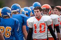 Varsity football Gilford versus Newport October 30, 2010.
