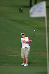 30 Aug 2005<br /> <br /> Katie Allison on the 1st fairway.<br /> <br /> State Farm Classic, LPGA Golf Tournament, Tuesday Practice, The Rail Golf Course, Springfield, IL