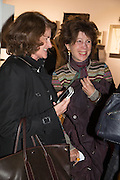 JILL RITBLAT; FELICITY WALEY-COHEN, Collector's preview of PAD. Berkeley Sq. London. 8 October 2012.