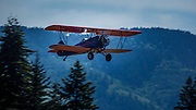 1929 Travel Air 4000 taking off at WAAAM.