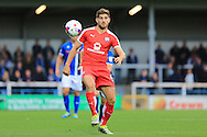 Ched Evans during the EFL Cup match between Rochdale and Chesterfield at Spotland, Rochdale, England on 9 August 2016. Photo by Daniel Youngs.