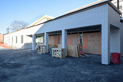 Central High School Bridgeport CT Expansion & Renovate as New. State of CT Project # 015-0174. Gymnasium. One of 84 Photographs of Progress Submission 11, 04 January 2016