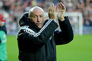 New head coach Tony Pulis during the The FA Cup match between West Bromwich Albion and Gateshead at The Hawthorns, West Bromwich, England on 3 January 2015. Photo by Alan Franklin.