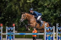 Bles Bart, NED, Jumper Verdi<br /> Nationaal Kampioenschap KWPN<br /> 6 jarigen springen round 2<br /> © Dirk Caremans<br /> 18/08/2020