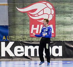 23.10.2016, BSFZ Suedstadt, Maria Enzersdorf, AUT, HLA, SG INSIGNIS Handball WESTWIEN vs Moser Medical UHK Krems, Grunddurchgang, 9. Runde, im Bild Florian Kaiper (WestWien)// during Handball League Austria, 9 th round match between SG INSIGNIS Handball WESTWIEN and Moser Medical UHK Krems at the BSFZ Suedstadt, Maria Enzersdorf, Austria on 2016/10/23, EXPA Pictures © 2016, PhotoCredit: EXPA/ Sebastian Pucher