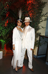 ANDY & PATTI WONG at Andy & Patti Wong's Chinese New Year party to celebrate the year of the Rooster held at the Great Eastern Hotel, Liverpool Street, London on 29th January 2005.  Guests were invited to dress in 1920's Shanghai fashion.<br /><br />NON EXCLUSIVE - WORLD RIGHTS