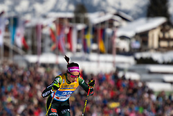 February 21, 2019 - Seefeld In Tirol, AUSTRIA - 190221 Sofie Krehl of Germany competes in women's cross-country skiing sprint qualification during the FIS Nordic World Ski Championships on February 21, 2019 in Seefeld in Tirol..Photo: Joel Marklund / BILDBYRN / kod JM / 87879 (Credit Image: © Joel Marklund/Bildbyran via ZUMA Press)