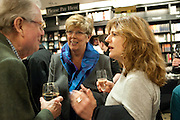 PRUE LEITH, Relish: My Life on a Plate by Prue Leith. Hatchards. Piccadilly, London. 14 March 2012.