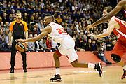 DESCRIZIONE : Milano Eurolega Euroleague 2013-14 EA7 Emporio Armani Milano Olympiacos Piraeus<br /> GIOCATORE : Keith Langford<br /> CATEGORIA : Palleggio<br /> SQUADRA : EA7 Emporio Armani Milano <br /> EVENTO : Eurolega Euroleague 2013-2014<br /> GARA : EA7 Emporio Armani Milano Olympiacos Piraeus<br /> DATA : 09/01/2014<br /> SPORT : Pallacanestro <br /> AUTORE : Agenzia Ciamillo-Castoria/G.Cottini<br /> Galleria : Eurolega Euroleague 2013-2014  <br /> Fotonotizia : Milano Eurolega Euroleague 2013-14 EA7 Emporio Armani Milano Olympiacos Piraeus<br /> Predefinita :