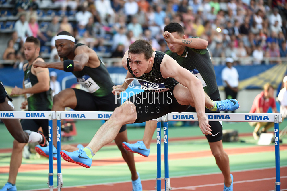 Sergey Shubenkov (ANA) competes in Men's 110m Hurdles during the Meeting de Paris 2018, Diamond League, at Charlety Stadium, in Paris, France, on June 30, 2018 - Photo Jean-Marie Hervio / KMSP / ProSportsImages / DPPI