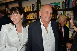 NICHOLAS & GEORGIA COLERIDGE at a party to celebrate the publication of Stanley I Resume by Stanley Johnson at the Daunt Bookshop, Marylebone High Street, London on 23rd September 2014.
