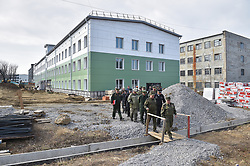 April 30, 2019 - Khabarovsk, Khabarovsk region, Russia - Russian Deputy Minister of Defense Ruslan Tsalikov visited Khabarovsk, where barracks are being built for military personnel of the 64th separate motorized rifle brigade (Credit Image: © Russian Look via ZUMA Wire)