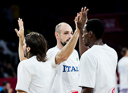 Marco Cusin of Italy during basketball match between National Teams of Finland and Italy at Day 10 in Round of 16 of the FIBA EuroBasket 2017 at Sinan Erdem Dome in Istanbul, Turkey on September 9, 2017. Photo by Vid Ponikvar / Sportida
