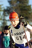 Langrenn, Adidas-cup junior, Ål 2000 klassisk stil.  Jhon Kristian Dahl, Kirkenes og Omegn Skiklubb. Foto: Digitalsport