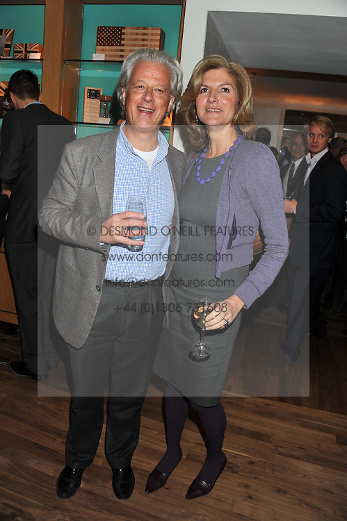 LORD KENILWORTH and XENIA FOLKES at the Linley Christmas Party held at Linley, 60 Pimlico Road, London on 16th November 2011.
