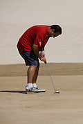 Abu Dhabi, United Arab Emirates (UAE). March 20th 2009.<br /> Al Ghazal Golf Club.<br /> 36th Abu Dhabi Men's Open Championship.<br /> Alex Charawani