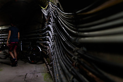 THEMENBILD - Elektrische Leitungen im inneren des Mooserboden Staudamms, aufgenommen am 15. Juni 2017, Kaprun, Österreich // Electrical cables inside the Mooserboden dam on 2017/06/15, Kaprun, Austria. EXPA Pictures © 2017, PhotoCredit: EXPA/ Stefanie Oberhauser