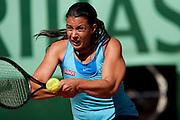 Roland Garros 2011. Paris, France. May 23rd 2011..French player Marion BARTOLI against Anna TATISHVILI